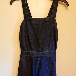 Universal Thread Dark Denim Dress with Tank Strap